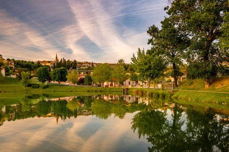 Pique-nique au lac de Puylaurens en Pays de Cocagne