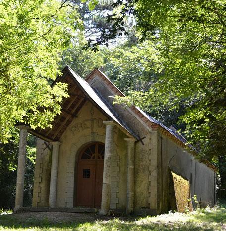 Balade à la chapelle du Calvaire d'Aguts en Pays de Cocagne