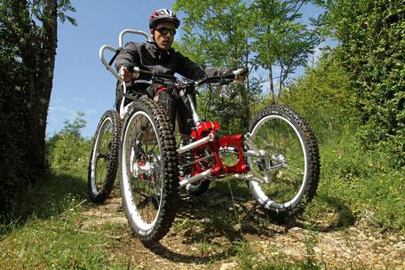 Tourisme Handicap, VTT Itinérance, handi-sport, Thierry Jalbaud, Montagne Noire, Terres d'Autan, Réserve ornithologique, randonnée fauteuil roulant