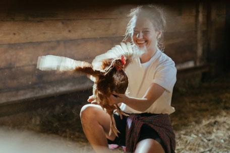 Enfants à la ferme, producteurs locaux, stage à la ferme, balade en roulotte à la ferme d'En Gout en Pays de Cocagne, que faire à Dourgne, en famille, que voir à Puylaurens, activités nature