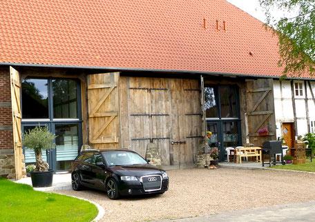 Fachwerkstatt Drücker - Fachwerk Holztore und Holztüren