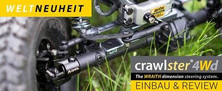 Gerys Modellbaublog testet den neuen crawlster®4Wd