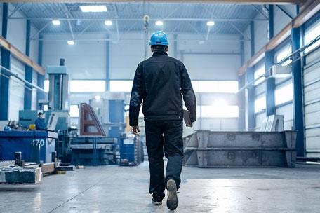 Anlage aus der Metall und Kunststoff Industrie