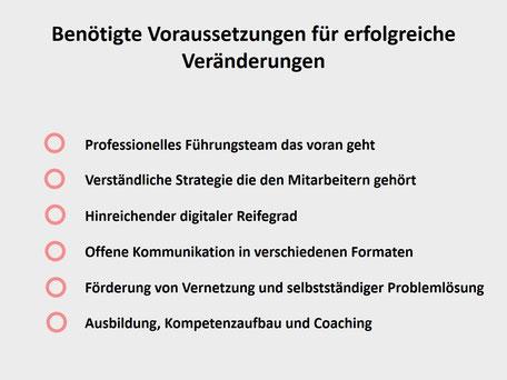 Agiles Management: Voraussetzungen für erfolgreiche Restrukturierungen im Mittelstand