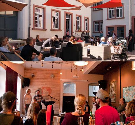 Bild: DANKBAR Mannheim Café Innenhof