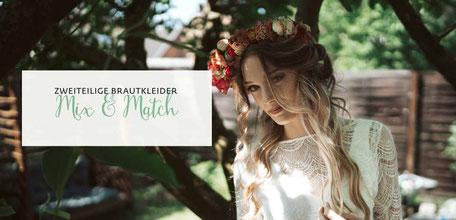 Brautkleid Zweiteiler MIX & MATCH