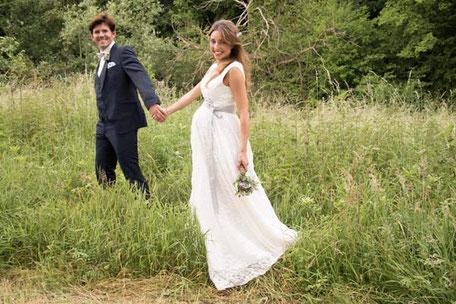 Brautkleid für Schwangere - Umstandskleid für die Braut