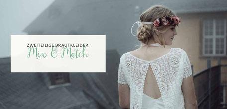 Brautkleid Zweiteiler 2019 - MIX & MATCH Kollektion