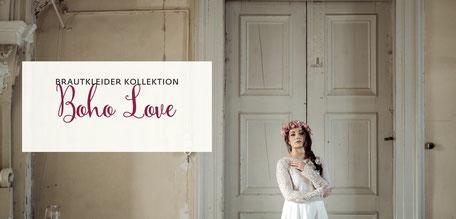 """NEU:  jetzt die Brautkleider Kollektion """"Boho Love"""" entdecken"""