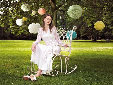 schlichte Brautkleider von Rike Winterberg
