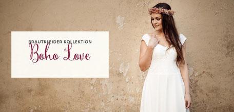 NEU:  jetzt die Brautkleider Kollektion Boho Love entdecken