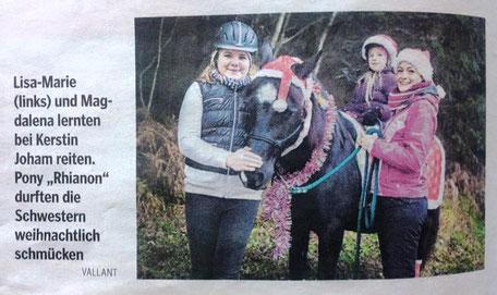Bericht Kleine Zeitung, Dezember 2015