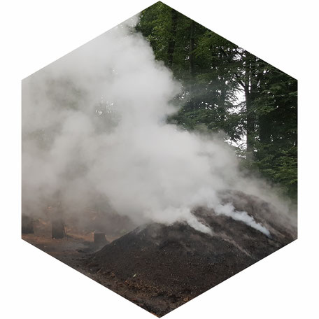 Wie bei den Köhlerwochen steigt auch über dem 5verBund Rauch auf - Zwei neue Projekte wurden gewählt