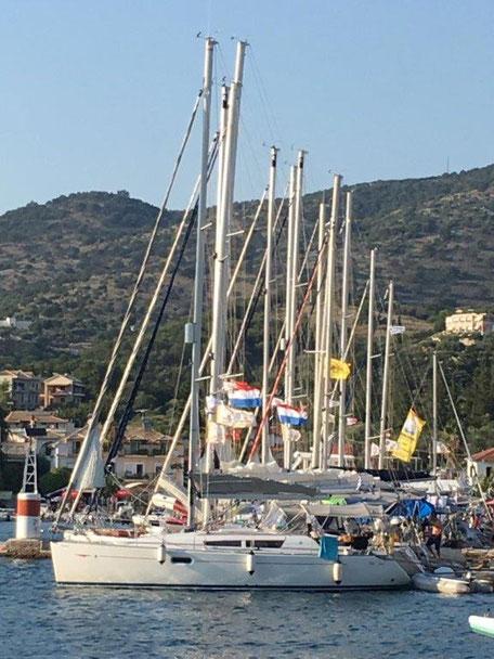 Flottieljezeilen in Griekenland voor heerlijke zeilvakanties