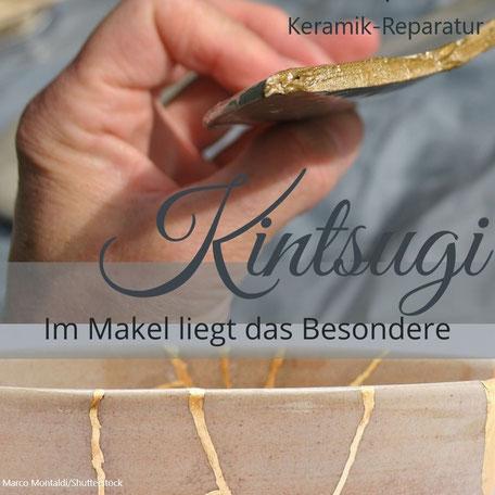 Recycling zerbrochener Keramik