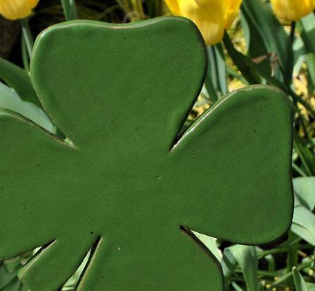 Glückssymbol vierblättriges Kleeblatt