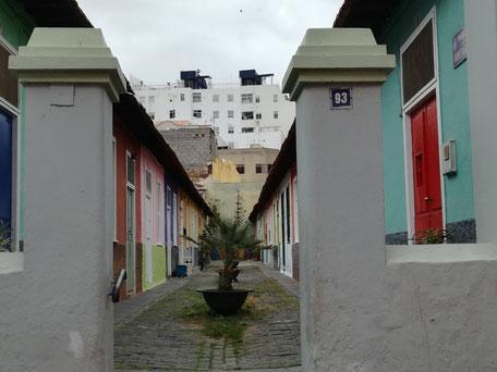 Barrio de Las Chuchangas, en Lotra / Barrio de El Toscal, Santa Cruz de Tenerife.