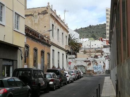 Barrio de La Bajada, en San José / Barrio de El Toscal, de Santa Cruz de Tenerife.