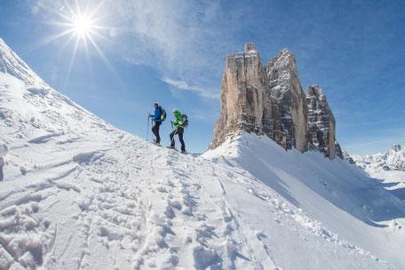 NUOVO da Dicembre 2014: il collegamento degli impianti da schi del Monte Helmo a Versciaco con la Croda Rossa a Sesto.