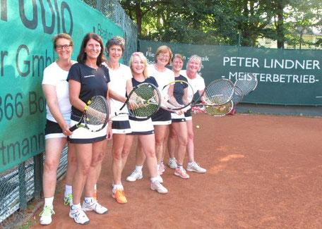 Von links: Uta Kube-van Lith; Susanne Wahl, Christiane Hautau, Claudia Lindner, Irena Richter; Birgit Hain und Birke Willersen