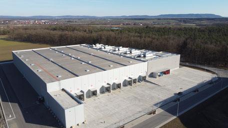 VS Logistics Warehousing, Lange Länge 11, Dettelbach, Gefahrstofflager Vogelperspektive
