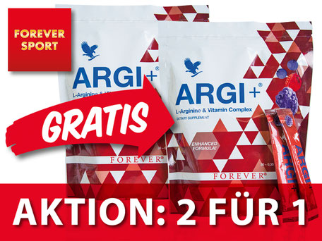 ARGI+ Aktion 2 FOR 1
