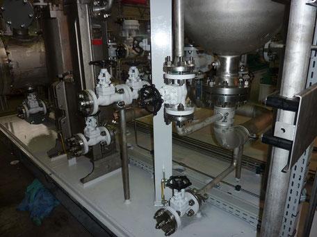 Schweißnahtkontrolle und Endabnahme ein Pumpen System