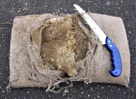 格安な、洪水に土の用意がいらない吸水膨張土のう