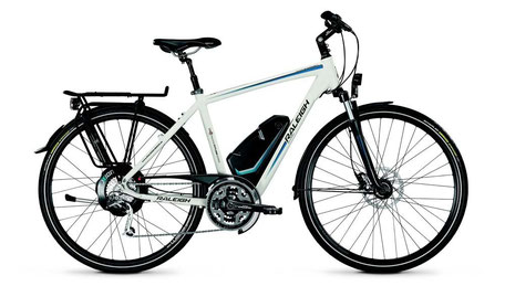 Raleigh e-Bike mit Xion Antrieb