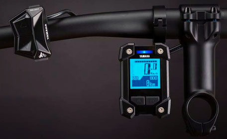 Yamaha PW-X e-Bike Display