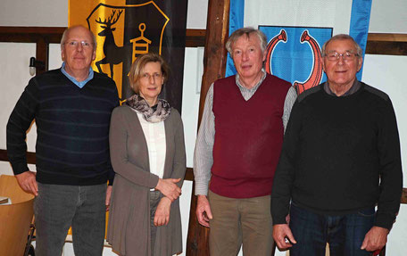 Das Bild zeigt den für die kommenden zwei Jahre neu gewählten Vorstand