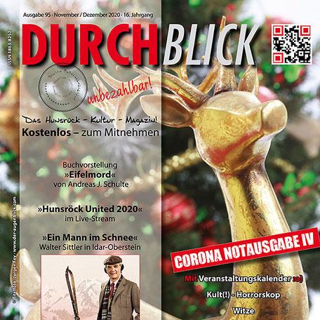 DURCHBLICK - Ausgabe 95 - November + Dezember 2020