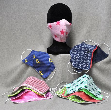 Mundschutzmasken von Lightgreen Modemanufaktur / Embsen