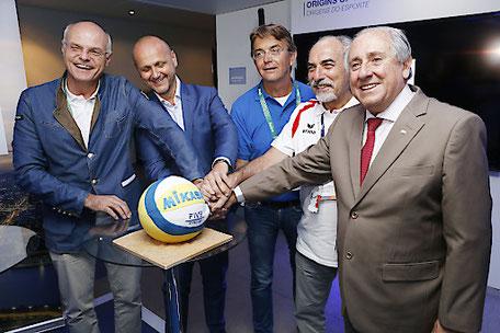 Die FIVB Beach Volleyball Weltmeisterschaften 2017 finden in Wien statt Beachvolleyball WM Weltmeisterschaft 2017 Hotel Romantikhotel Urania Wien Vienna ORF, 1030 Wien www.hotelurania.at