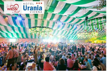 Wiener Wiesn Fest Kaiserwiese Prater, Vienna booking Hotel Urania, sehr gute Bewertung