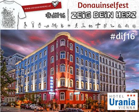 Donauinselfest Programm-Hotel Romantikhotel Urania Wien Vienna, 1030 Wien www.hotelurania.at