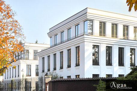 Neubauprojekt Berlin Agas Immobilien Villen am Dianasee Grunewald