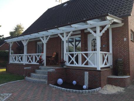 Terrassendach aus Holz (Himmelpforten) - Foto: KÄPPLER BauTischlerei