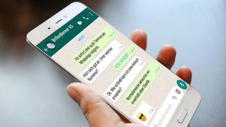 Termine nun auch per WhatsApp möglich