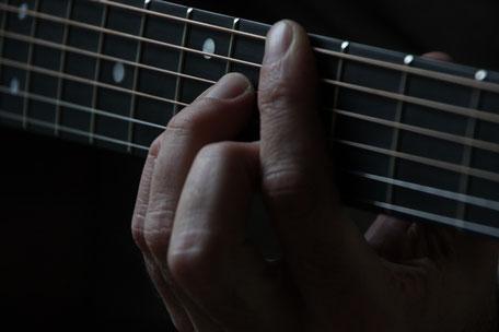 ギターコードのみで作曲