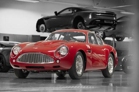 Aston Martin Vanquish Zagato Centennial Collection DB4 GT Zagato Continuation