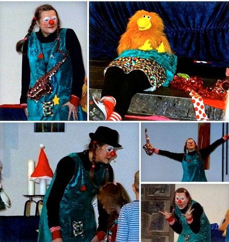 Lottes Weihnachts-Zirkus in Kirche Düsseldorf