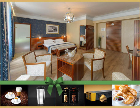 Hotel Urania Champagner Nespresso in the room Viennese wine Advent Wiener Wiesn christmas Prater Highlights Stephansdom Schönbrunn City package Ferry wheel vienna fair Schweizerhaus extensive breakfast party fun