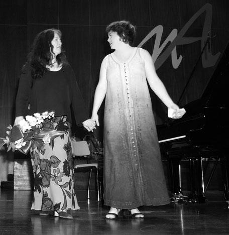 Martha Argerich und Ana Mirabela Dina