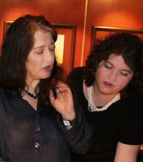 Martha Argerich y Ana Mirabela Dina