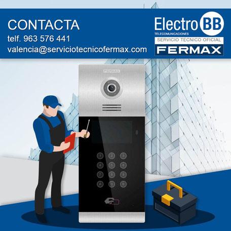 Servicio Técnico Oficial de Fermax en Valencia