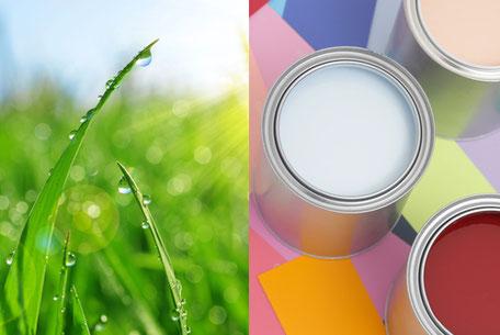 Biologisch gesunde und allergiefreundliche Farben