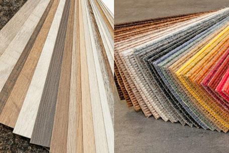 Zuhause beraten wir zu Tapeten, Bodenbelägen und Farben