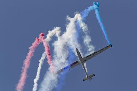 Fumigènes tricolores