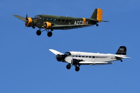 Duo de Junker JU-52